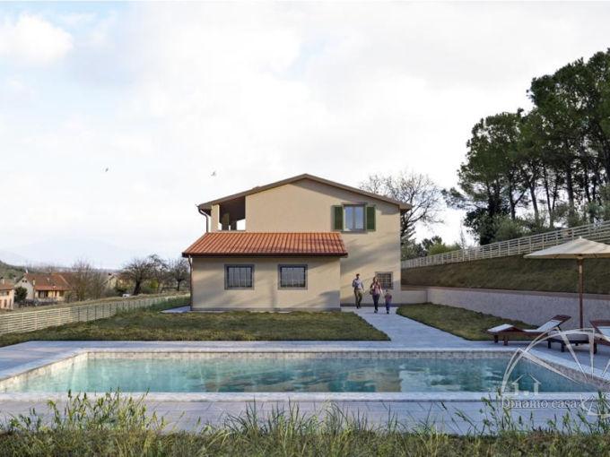 Colle. Villa moderna di nuova costruzione con piscina e 7500 mq di giardino. | RIF. ML120