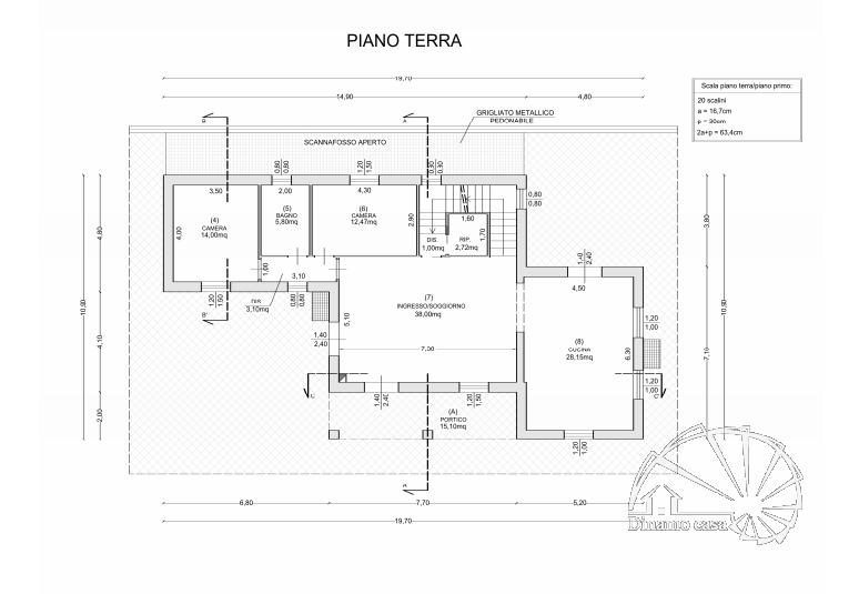Dinamo Casa - RIF. ML120 - Colle. Villa moderna di nuova costruzione con piscina e 7500 mq di giardino.